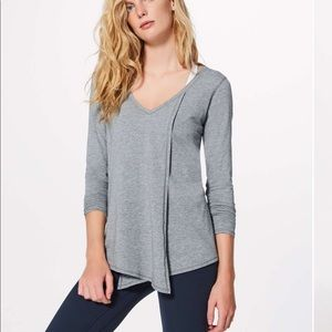 Lululemon Knot a problem Long Sleeve Top